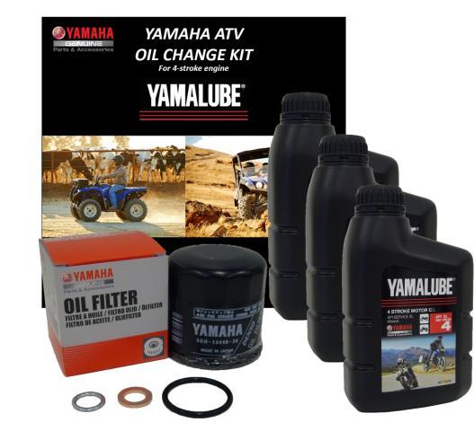 Oil Change Kit, Y4-FS 15W50 Full Synthetic