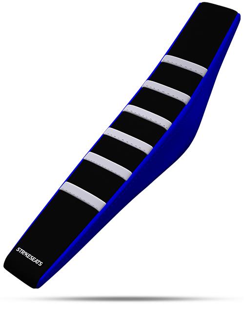 gripper ribber seat-WHI-BLK-BLU