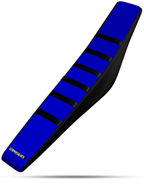 GRIPPER RIBBED SEAT-blk-blu-blk