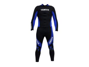 BLUE LONG-JOHN WETSUIT WITH JACKET